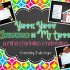 Yummy, Yummy Gingerbread in My Tummy! {Craftivities & Mathtivity}