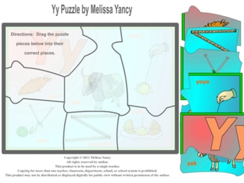 Yy Puzzle by Melissa Yancy for mac
