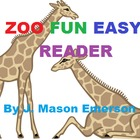 ZOO FUN EASY READER (Common Core, Pre-K, K, ESL)
