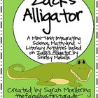 Zack's Alligator Mini-Unit (Science, Math, and Literacy!)
