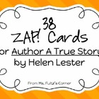 Zap! Cards for Author A True Story