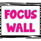 Zebra Focus Wall Labels