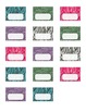 Zebra Print Teacher Toolbox Labels