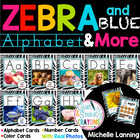 Zebra Themed Alphabet & Colors with Real photos!