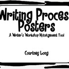 Zebra Writing Process Posters and Management