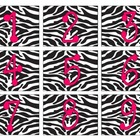 Zebra/Hot Pink Themed Calendar Set