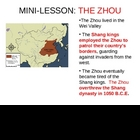 Zhou Dynasty Feudalism Simulation PowerPoint