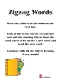 ZigZag Words