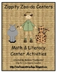 Zippity ZOO-Da Math &amp; Literacy Center Activities
