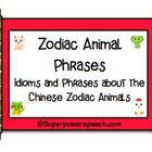 Zodiac Animal Phrases