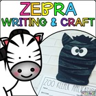 Zoey the Zebra { Animal Craftivity and Writing Prompts! }