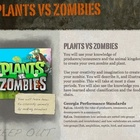 Zombies WebQuest: Classifying Imaginary Organisms