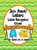 Zoo Animal Letter Matching and Activities