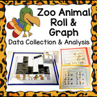 Zoo Animal Roll &amp; Graph Activity