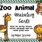 Zoo Animal Sorting Cards