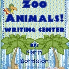 Zoo Animals! Writing Center