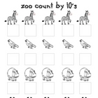 Zoo Count By 10's