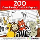 Zoo Craftivity Book
