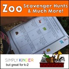 Zoo Scavenger Hunt & Much More