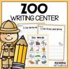 Zoo Writing Center Mini-Packet