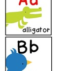 Zoo or Animal Theme Alphabet Line