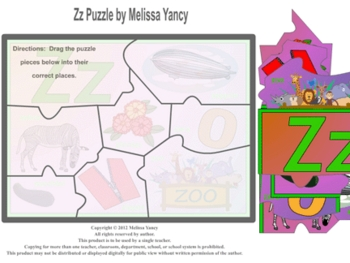 Zz Puzzle by Melissa Yancy for pc