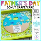 a donut for dad {a father&#039;s day craftivity}