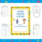 adjectives worksheets and adjectives activities