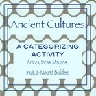 ancient cultures categorizing activity {CCS aligned}