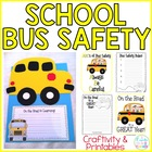 back to school bus craftivity {and a safety lesson, too!}