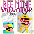 bee mine {a valentine&#039;s day craft}