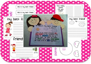 best friends forever {craftivity}