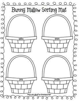 bunny mallows {printables}