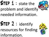 california treasures research and inquiry packet