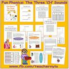 &#039;ch&#039; sounds - Fun Phonics - The Three &#039;ch&#039; Sounds