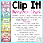 clip it! behavior chart