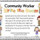Community Worker Write the Room