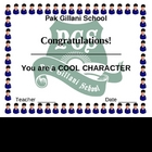 cool character award