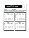 culture game Spanish countries (2-4-6-8 trivia game!)