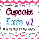 cupcake fonts v.2 {personal &amp; commercial use}