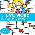cvc Words Write&#039;n&#039;Wipe Cards - Print, Laminate, Write &amp; Learn!