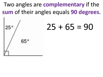 different types of angles