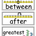 enVision Grade 1 Topic 2 Vocabulary Word Wall Cards