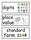enVision Grade 3 Topic 1 Vocabulary Word Wall