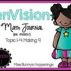 enVision Topic 1-4 Math Journal {Free}