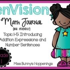 enVision Topic 1-5 Math Journal {Free}