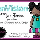 enVision Topic 1-7 Math Journal {Free}