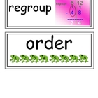 envision Grade 3 Topic 4 Vocabulary Word Wall Cards