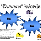 &quot;ew&quot; Phonics Stars