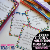 Guided Reading - Reading Comprehension Question Cards